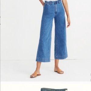 Madewell | Emmett Wide-Leg Crop Jeans Rosalie Wash